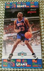1995 Fleer NBA jam Sessions Grant Hill RC Stand up #11 MINT UNCIRCULATED PISTONS $13.00