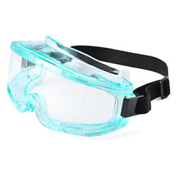 SAFEYEAR Safety Goggles Over Glasses Side Sealed Eye Protective Anti Fog Scratch $17.95