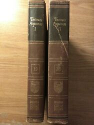 The Summa Theologica of Saint Thomas Aquinas Book Britannica # 19 volume 1  $65.00