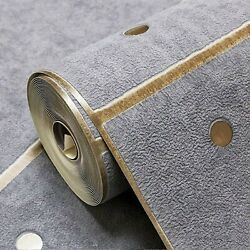 3D GrayImitation Suede Marble Non woven Wallpapers Modern Room Decor $40.00