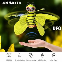 Kids Mini Drone Smart Bee Shape UFO Aircraft Flying Funny Toys RC Remote Control $17.99