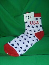 USA Star Socks $4.00