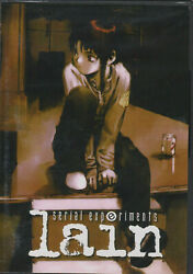 Serial Experiments Lain TV Complete Anime Collection DVD シリアルエクスペリメンツレイン $19.96