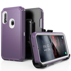 For Samsung Galaxy A10eA20A30A50 Shockproof Heavy Duty Stand Phone Case Cover $15.98