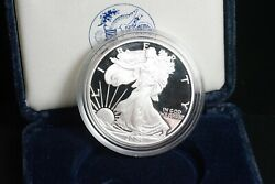 2004 Proof American Silver Eagle S$1 1 oz 999 Pure One Dollar Coin