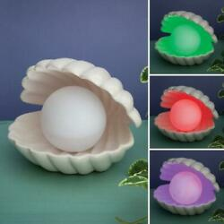 Color Changing LED Pearl Lamp in a Ceramic Clam Shell $24.95