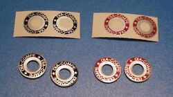 DIA COMPE BRAKE WASHER DECALS-CHOICE OF 2 COLORS $6.25