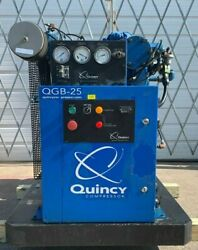 25Hp Air Compressor Quincy Screw Compressor #1343