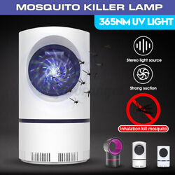 Photocatalytic Mosquito Killer Lamp LED Light Non-Toxic UV Insect Trap USB 365nm $10.98