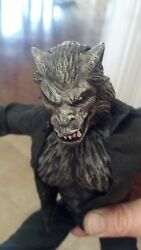 custom painted lycan head for 12 inch body $15.99