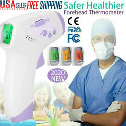 Infrared Digital Forehead Thermometer Touchless Baby Adult Temperature Gun Body $22.99