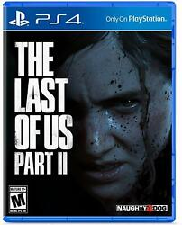 The Last of Us Part II PlayStation 4 2020 Brand New  $58.99