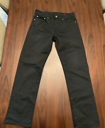 American Eagle Mens Next Level Flex Black Jeans 31 32 Relax And Straight $40.36