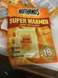 HotHands Body & Hand Super Warmers-Up to 18 Hours of Heat 20 Individual Warmers $20.70