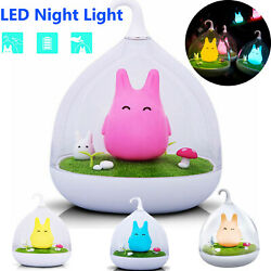 LED Baby Wall Night Light Lamp Cute Smart Touch Sensor USB Charging Desk Lamp $6.52