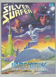MARVEL GRAPHIC NOVEL THE SILVER SURFER HOMECOMING PAPERBACK by JIM STARLIN