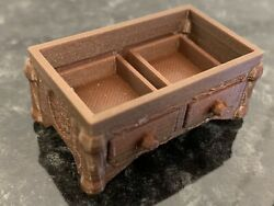 Hero Quest Lower Desk Replacement Dungeon Furniture Damp;D GBP 4.95