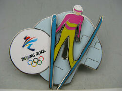 BeiJing 2022 Winter Olympic Games Cross Ski Jumping Pin $45.00
