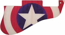 WD Custom Pickguard For Gibson Vintage 1960#x27;s ES 335 #G21 Star Target Graphic $40.99