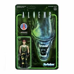 Super7 Aliens Vasquez ReAction Figure 3.75-Inch Carded Figure *NOC $18.99