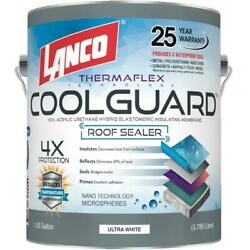 Seal Rubber Roof Coating 1 Gal Coolguard RV Home Protect Waterproof Paint $52.99