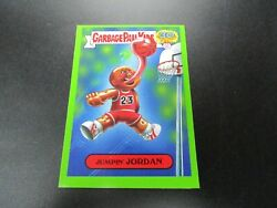 2015 Garbage Pail Kids 30th Jumpin Jordan Green Border SP Sticker $55.00