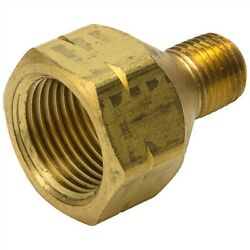 Male NPT female POL Single Piece Brass Propane Adapter ME284 ME285 ME286 ME287 $13.99