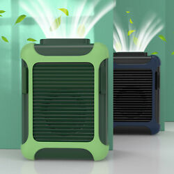 Portable USB Rechargeable Waist Hanging Dual Cooling Mini Fan Personal Outdoor $25.95
