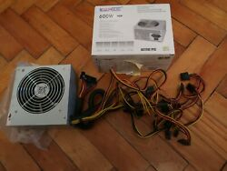 ATX Power 600W for PC modular active PFC low noise power supply $59.99