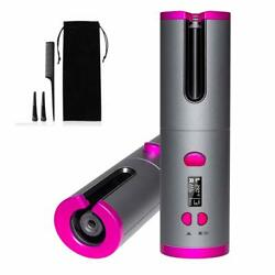 Cordless Automatic Hair Curler IronFirst High Performance Curling Iron with LCD $58.99