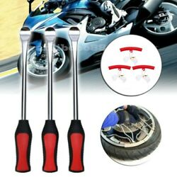 6PCS Tire Spoon Lever Iron Tool Motorcycle Bike Tire Change Changer Kit wCase $26.99