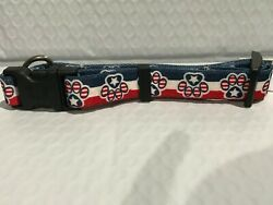 Patriotic small collar by Yellow Dog Design $6.75
