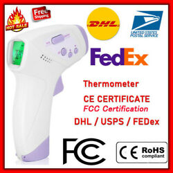Infrared Forehead Thermometer Digital LCD Non-Contact Temperature Gun US NEW $22.99