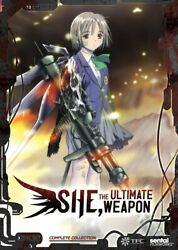 She the Ultimate Weapon - Anime - DVD