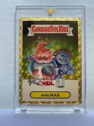 2014 Garbage Pail Kids Chrome SuperFractor Mad Max R11a $10,000.00