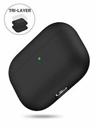 Miracase Upgrade Cover for Airpods Pro Case Triple Layer Protective Liquid Sili $18.32