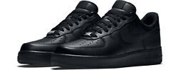 NIKE AIR FORCE 1 07 TRIPLE BLACK 315122 001 Mens sizes 6-14 *BRAND NEW IN BOX* $109.95