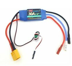 30A RC Brushless Motor Electric Speed Controller ESC 3A UBEC with XT60 amp; 3.5mm b $16.99