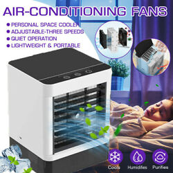 Evaporative Portable Mini Air Conditioner Cooler Fan Humidifier Air Cooling Fans $36.89