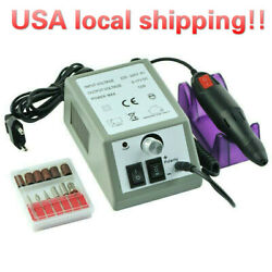Fast Shipping Electric Nail Drill Machine Manicure Tool Pedicure File Set Kits $18.99