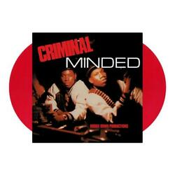Boogie Down Productions Criminal Minded New Vinyl 2XLP Sealed Red Color $25.10
