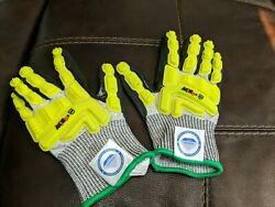 Axis D2  A4 Dyneema Palm Coat Cut Resistant Gloves Small $14.99