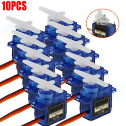 (10) 9G SG90 Micro-Servo Motor For RC Robot Helicopter Airplane Aircraf Car Boat $11.99