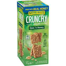 Nature Valley Oats #x27;n Honey Crunchy Granola Bars 98 ct. $19.47