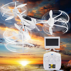 CX 33S 2.4G 4CH 6 axis Gyro RC Tricopter FPV LED Light amp; Camera Drone $26.99