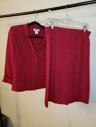 Miss Dorby Skirt Suits Size 12P $27.80