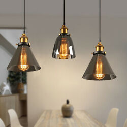 US Retro Industrial Hanging Light Fixture Chandelier Pendant Ceiling Lamp Shade $21.99