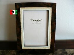 NATALINI Italian Handcrafted Wood Picture Frame 4X6 Beautiful Marquetry NEW $21.99