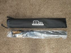 Camping Hiking Poles MTN TREKKING STICKS Adjustable With Case NEW $24.99
