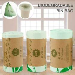 50X Biodegradable Bin Bag Compostable Caddy Sack Liner Food Waste Refuse Kitchen $16.49